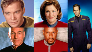 The Captains of 'Star Trek' (Photos: Viacom)