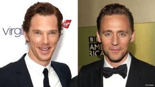 Benedict Cumberbatch and Tom Hiddleston