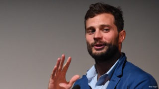 Jamie Dornan takes part in Q&A following the screening of BBC Two drama 'The Fall' to launch series three at BFI Southbank on September 7, 2016 in London, England.