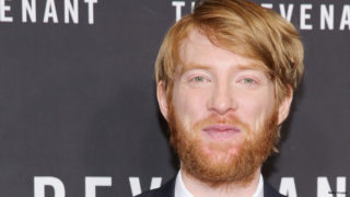 "Actor Domhnall Gleeson attends ""The Revenant"" New York special screening on January 6, 2016 in New York City."