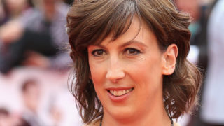 """Miranda Hart attends the UK Premiere of """"Spy"""" at Odeon Leicester Square on May 27, 2015 in London, England."""