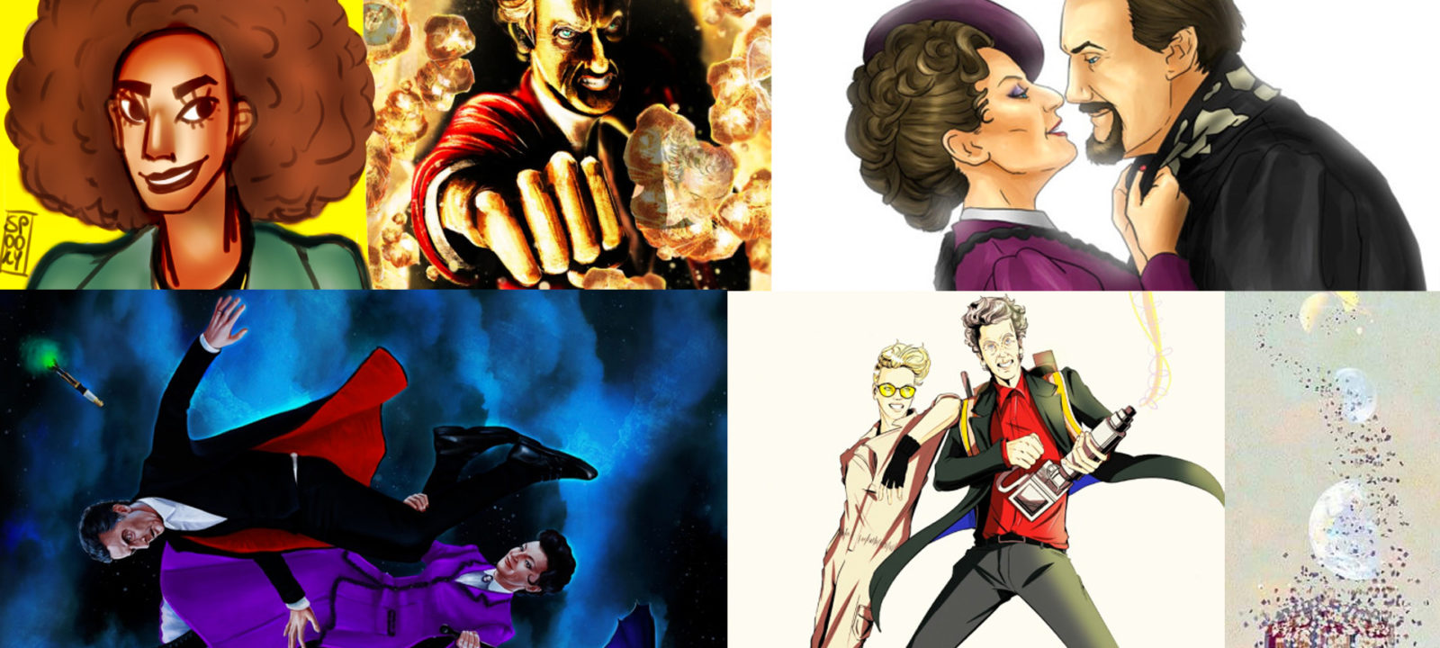 Doctor Who fan art (Photos: Tumblr)