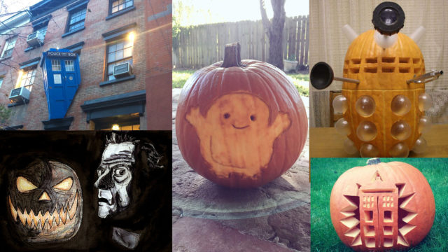 A most Whovian Halloween (Photos: Twitter)