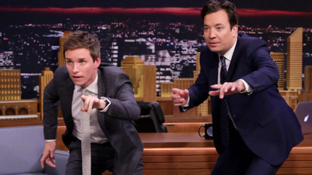The Tonight Show Starring Jimmy Fallon – Eddie Redmayne