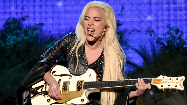 Recording artist Lady Gaga performs onstage during the 2016 American Music Awards at Microsoft Theater on November 20, 2016 in Los Angeles, California.