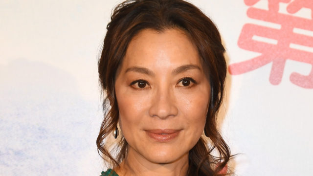 Actress Michelle Yeoh attends the 6th Chinese Film Festival  : Photocall at Cinema Gaumont Marignan on June 30, 2016 in Paris, France.