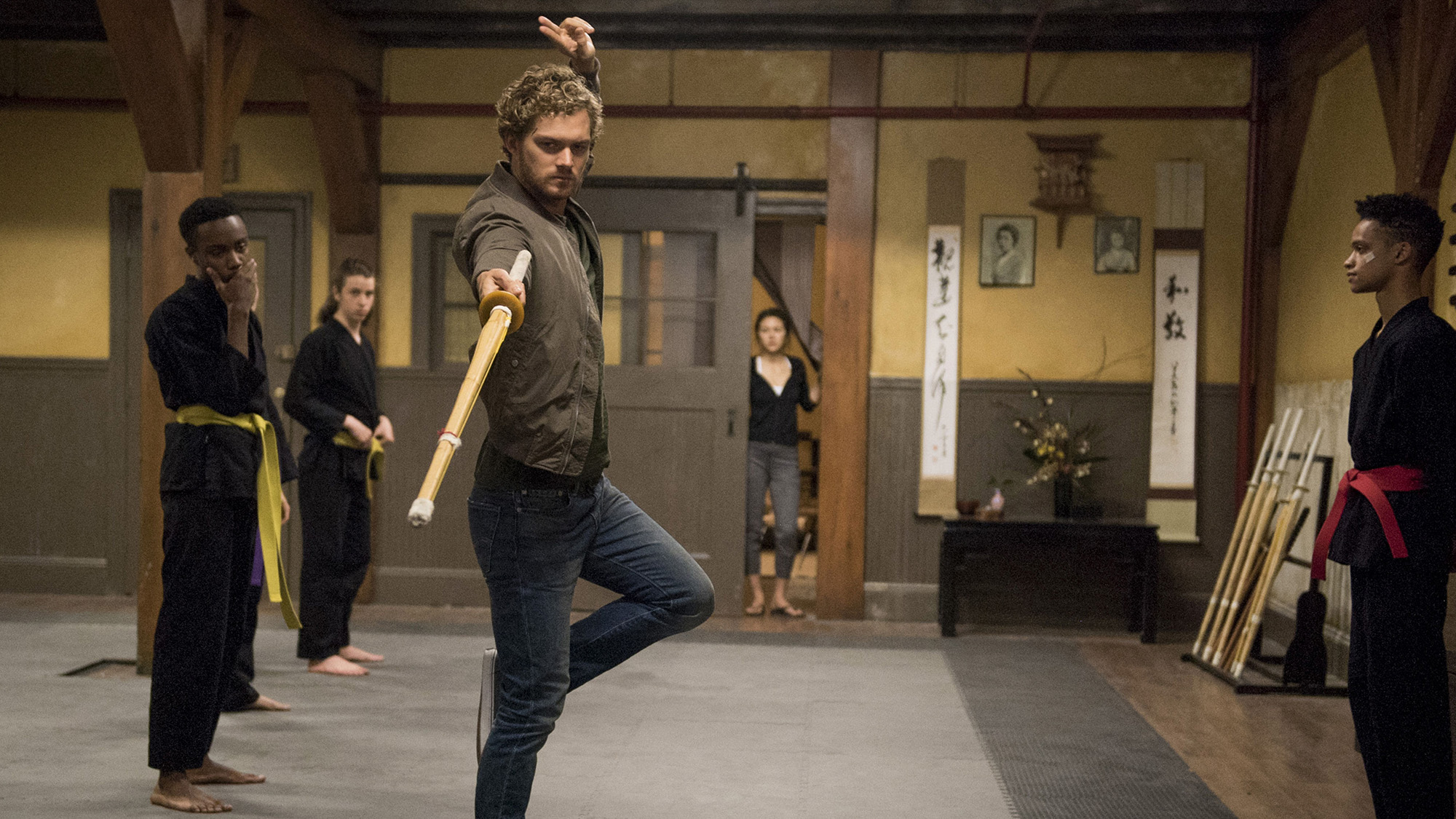 Finn Jones in 'Marvel's Iron Fist'. (Pic: Netflix)