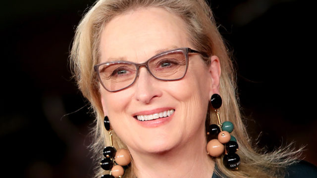 Meryl Streep walks a red carpet for 'Florence Foster Jenkins' during the 11th Rome Film Festival at Auditorium Parco Della Musica on October 20, 2016 in Rome, Italy.
