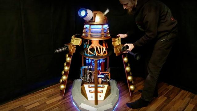 Stefan Ulrich's Dalek (Photo: YouTube)