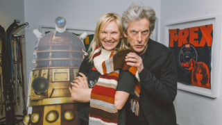 Peter Capaldi and BBC Radio 2's Jo Whiley (Photo: BBC)