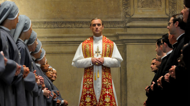 Jude Law in 'The Young Pope' (Photo: HBO)