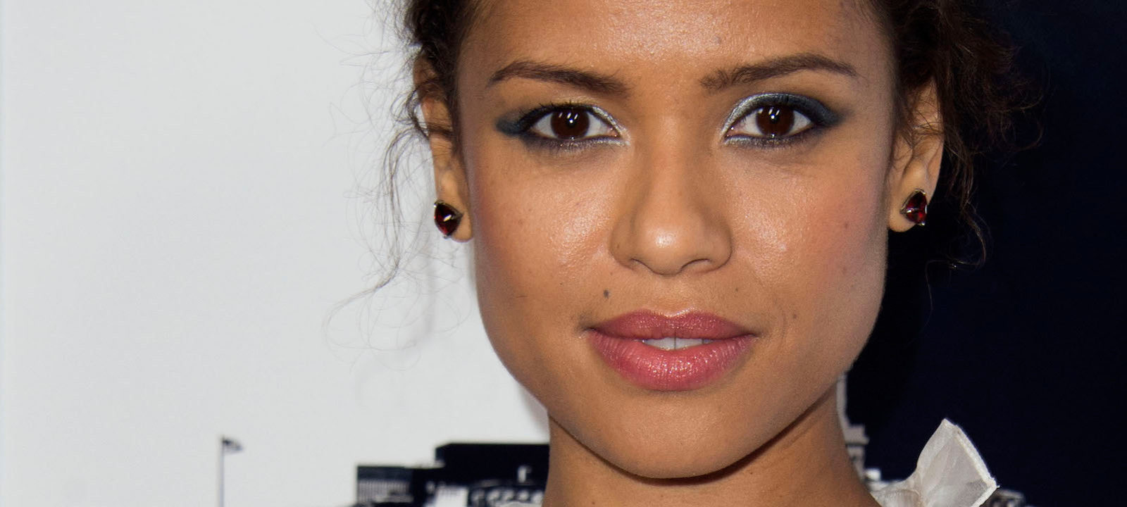 "Actress Gugu Mbatha-Raw attends the Premiere of ""Miss Sloane"" during the AFI Fest, in Hollywood, California, on November 11, 2016."