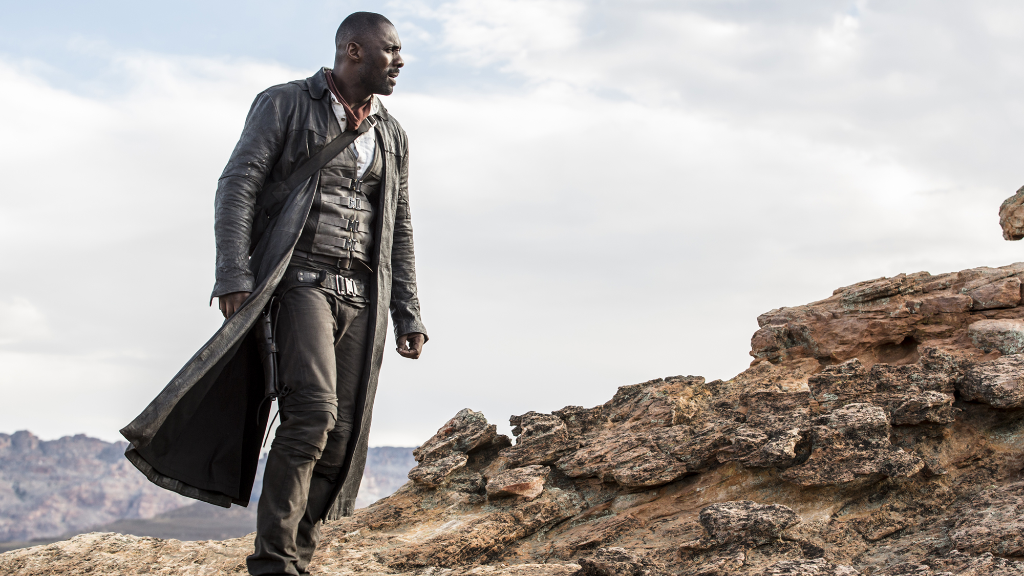 Idris Elba in 'The Dark Tower'. (Pic: Columbia Pictures)