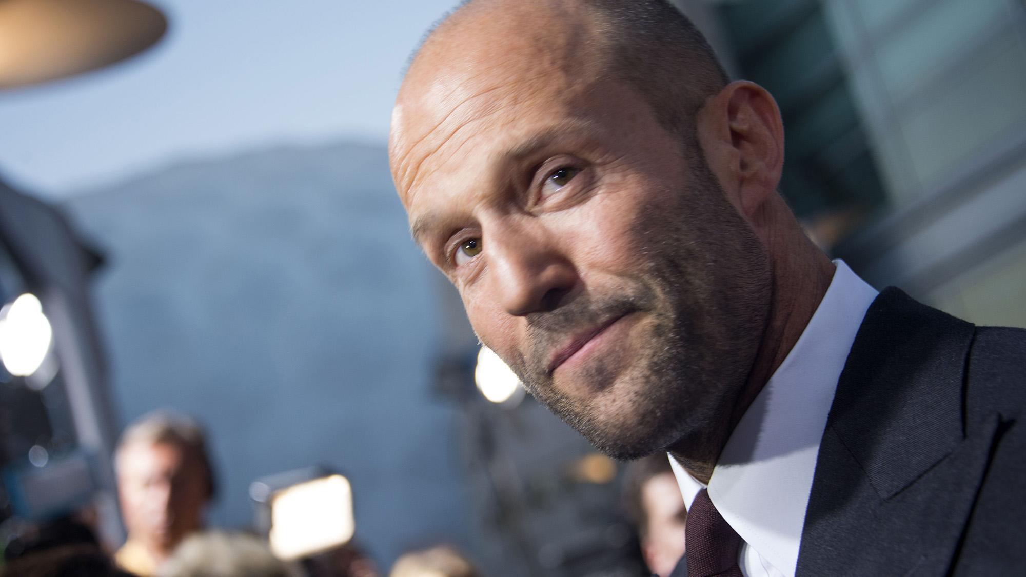 WATCH: Jason Statham i...