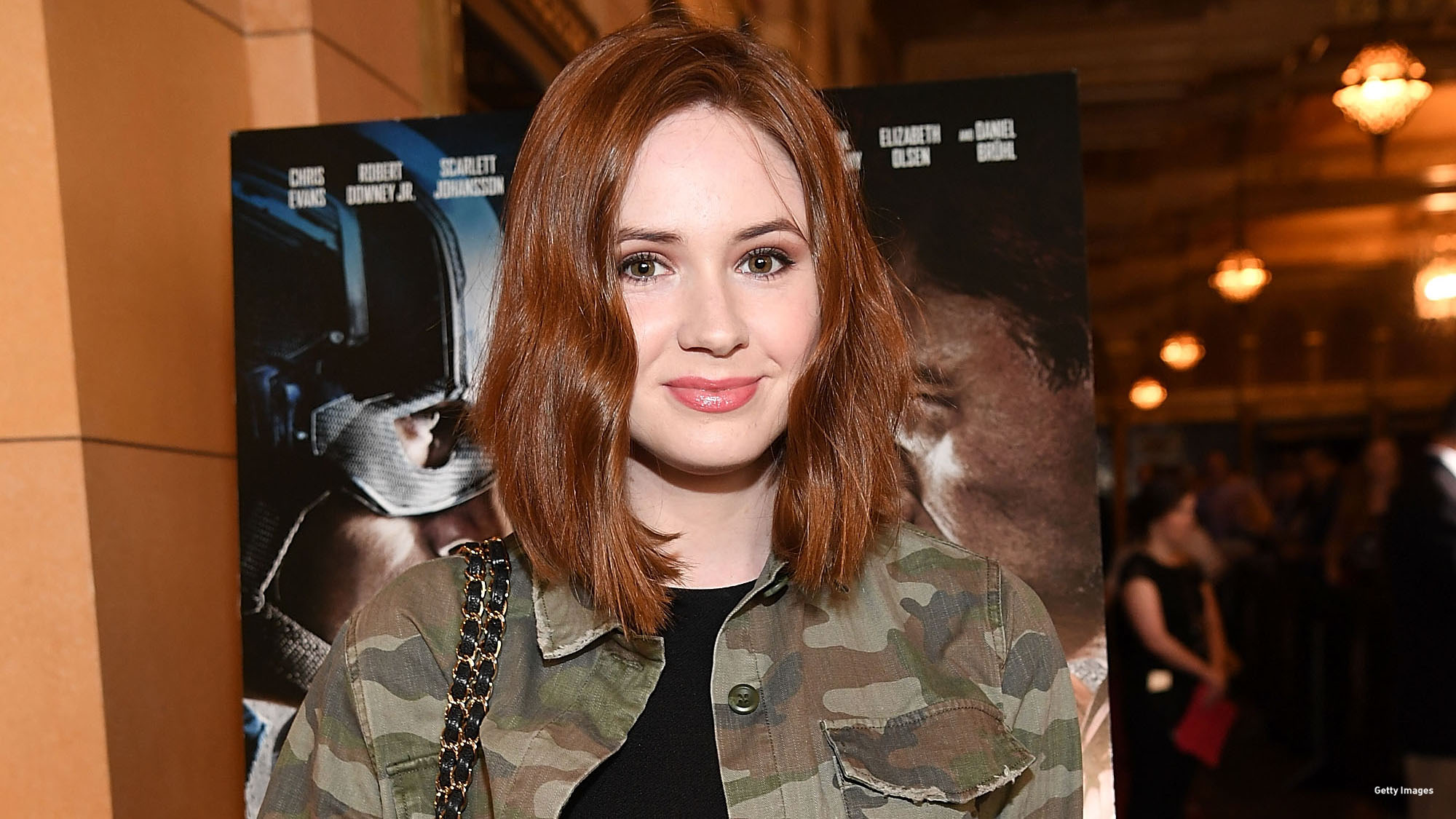 'Jumanji' will be another starring role in 2017 for Karen GIllan. (Pic: Paras Griffin/Getty Images)