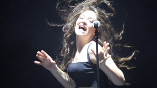 Lorde performs live at Dunedin Town Hall on October 29, 2014 in Dunedin, New Zealand.