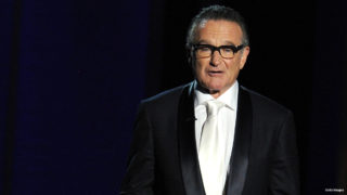 Presenter Robin Williams speaks onstage during the 65th Annual Primetime Emmy Awards held at Nokia Theatre L.A. Live on September 22, 2013 in Los Angeles, California.