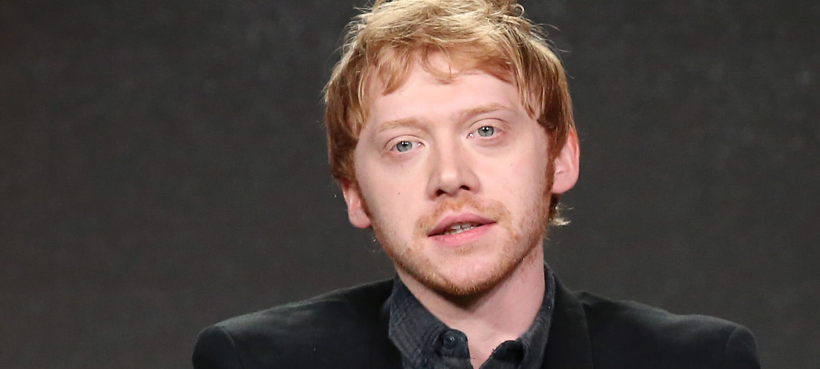 Actor Rupert Grint of the series 'Snatch' speak onstage during the Crackle portion of the 2017 Winter Television Critics Association Press Tour at the Langham Hotel on January 13, 2017 in Pasadena, California.