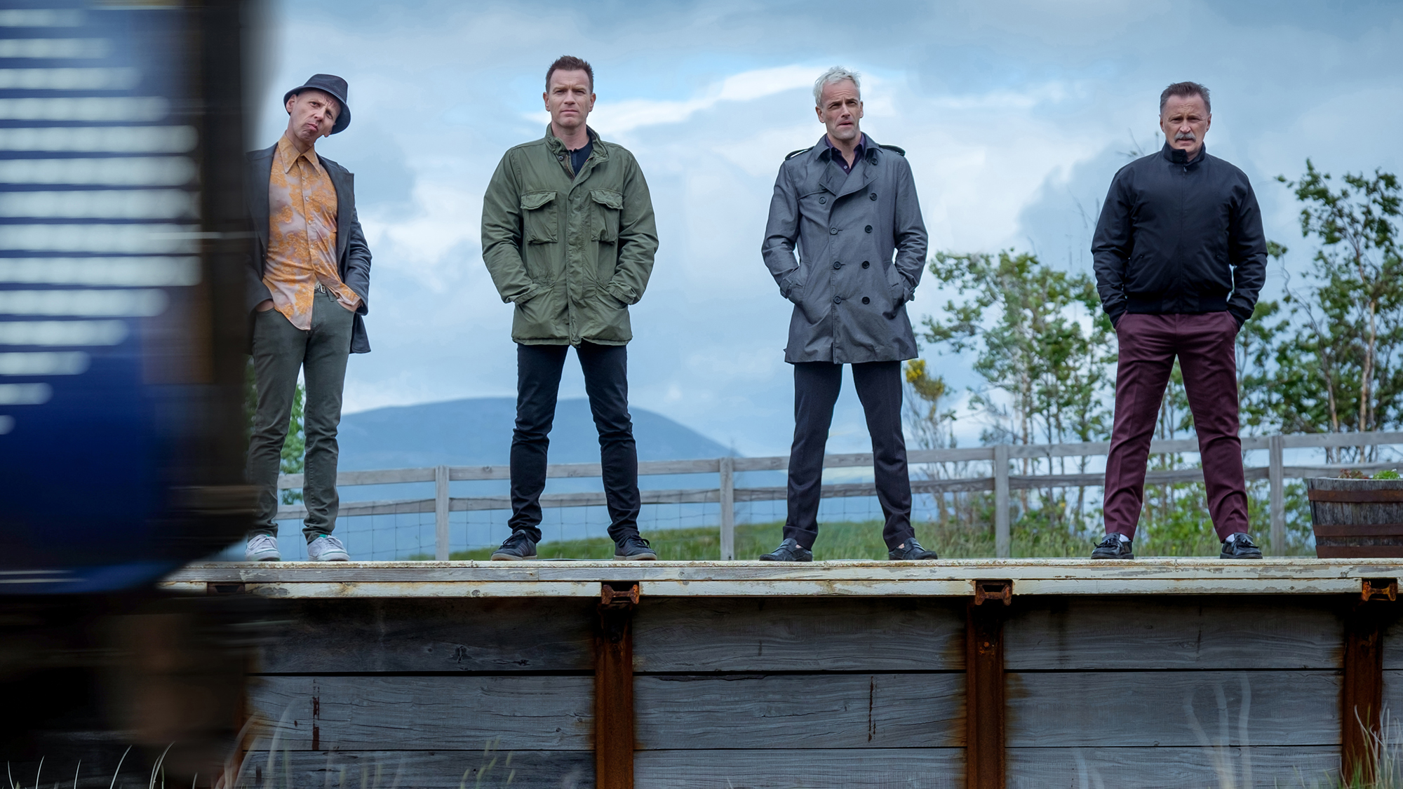 The boys are back in 'T2: Trainspotting'. (Pic: Film4)