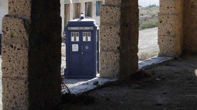 The TARDIS (Photo: BBC)
