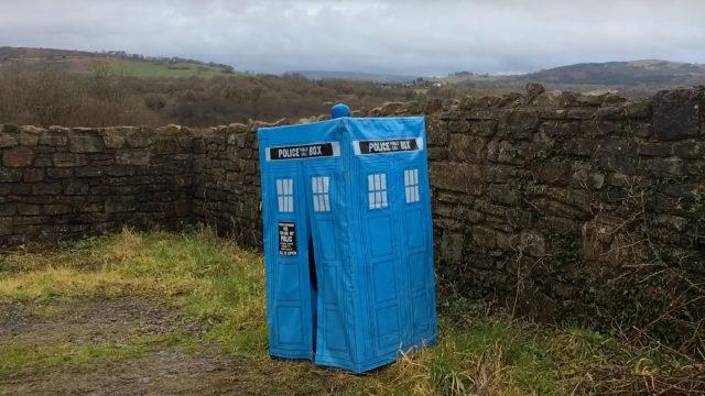 Mark Wright's TARDIS (Photo: YouTube)