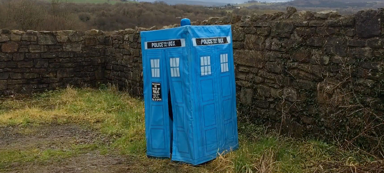 Mark Wright's TARDIS (Photo: YouTube)