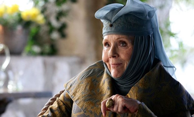 Dame Diana Rigg as Oleanna Tyrell in 'Game of Thrones'. (Photo: HBO)