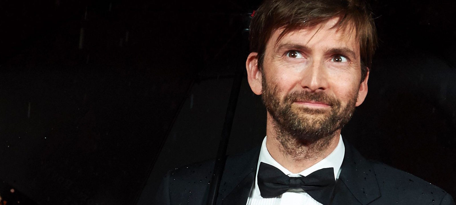 British actor David Tennant poses for photographers on the red carpet as he arrives for the BFI London Film Festival Awards in central London on October 15, 2016.
