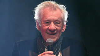 Sir Ian McKellen presents the award for Empire Legend during the THREE Empire awards at The Roundhouse on March 19, 2017 in London, England.