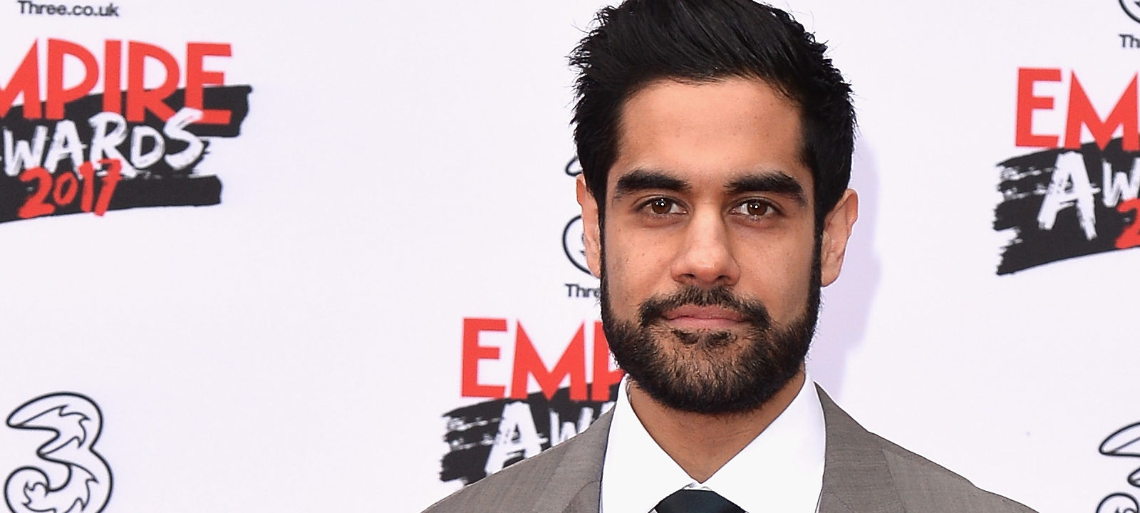 Actor Sacha Dhawan attends the THREE Empire awards at The Roundhouse on March 19, 2017 in London, England.