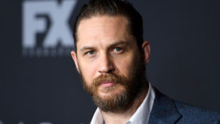 "Actor Tom Hardy attends the premiere of FX's ""Taboo"" at DGA Theater on January 9, 2017 in Los Angeles, California."