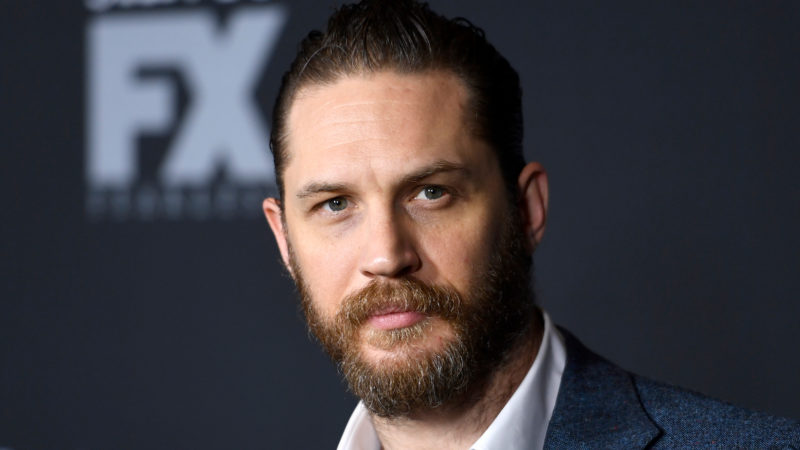 """Actor Tom Hardy attends the premiere of FX's """"Taboo"""" at DGA Theater on January 9, 2017 in Los Angeles, California."""