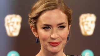 Actress Emily Blunt attends the 70th EE British Academy Film Awards (BAFTA) at Royal Albert Hall on February 12, 2017 in London, England.