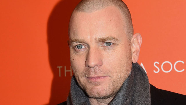 "Actor Ewan McGregor attends a TriStar and Cinema Society screening of ""T2 Trainspotting"" at Landmark Sunshine Cinema on March 14, 2017 in New York City."