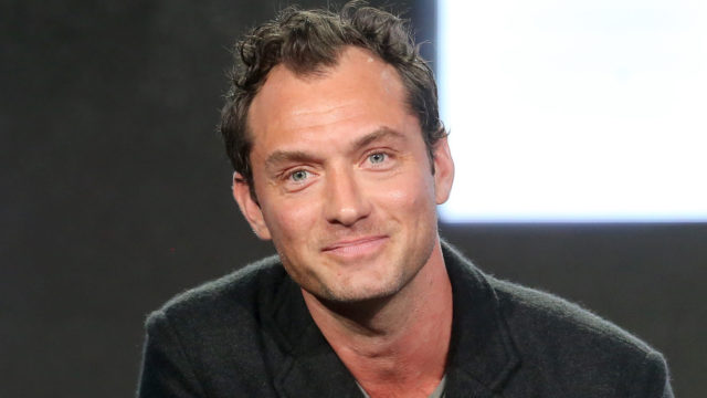 Actor Jude Law of the series 'The Young Pope' speaks onstage during the HBO portion of the 2017 Winter Television Critics Association Press Tour at the Langham Hotel on January 14, 2017 in Pasadena, California.