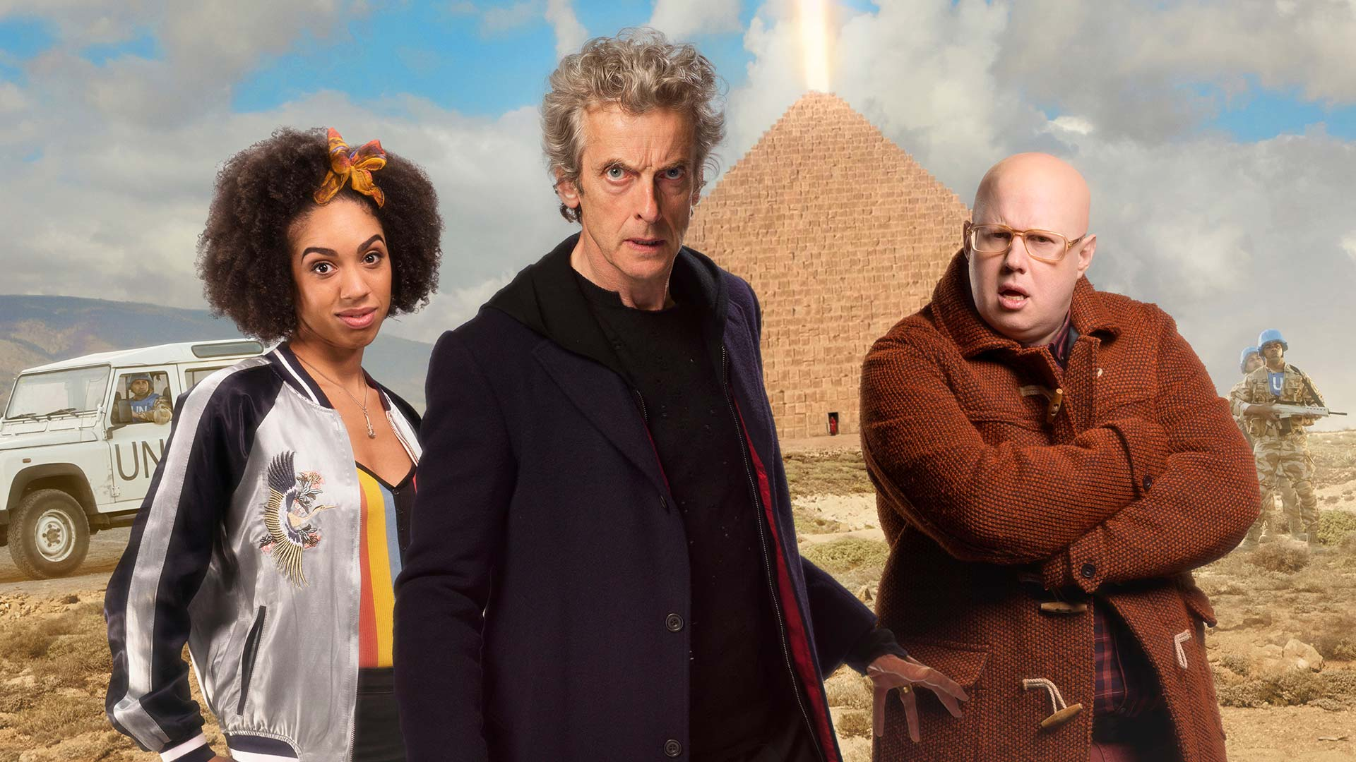 The Pyramid at the End the World Doctor Who BBC America