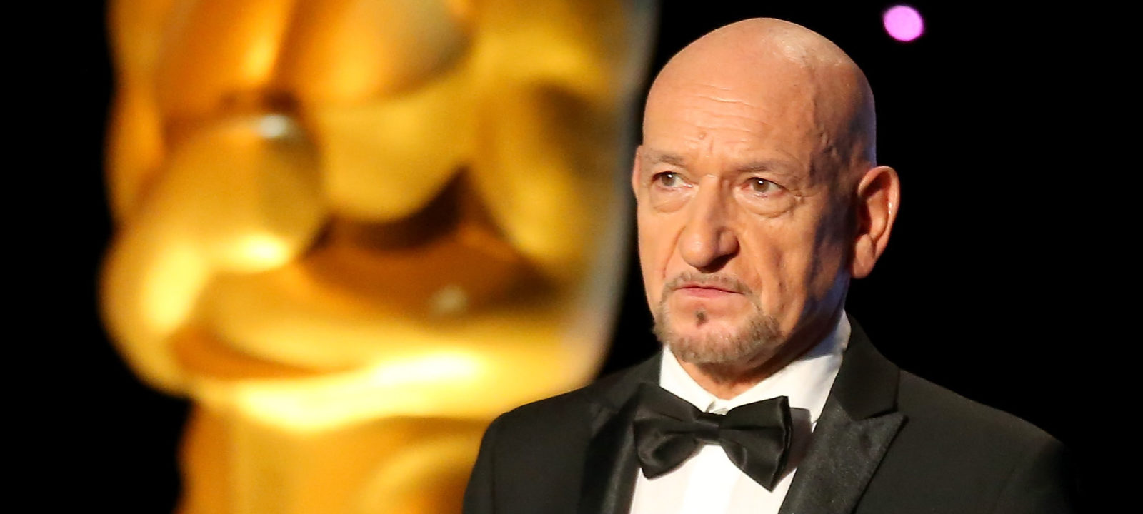 Actor Ben Kingsley speaks onstage during the Academy of Motion Picture Arts and Sciences' 8th annual Governors Awards at The Ray Dolby Ballroom at Hollywood & Highland Center on November 12, 2016 in Hollywood, California.