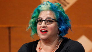 "Filmmaker Jenji Kohan speaks onstage during ""The Golden Age of Drama"" at the Vanity Fair New Establishment Summit at Yerba Buena Center for the Arts on October 9, 2014 in San Francisco, California."