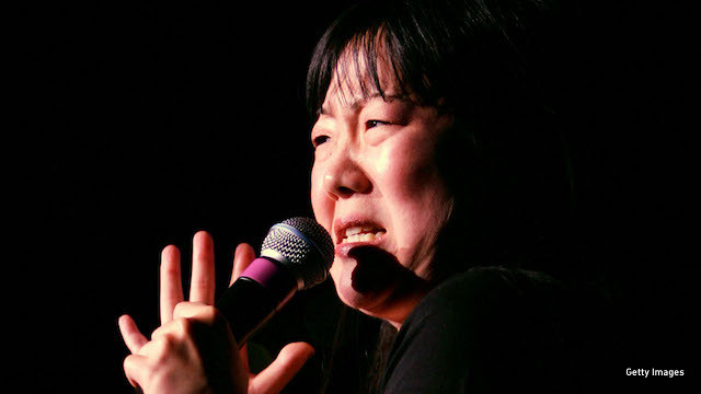 Margaret Cho on stage in 2007. (Photo: Getty Images)