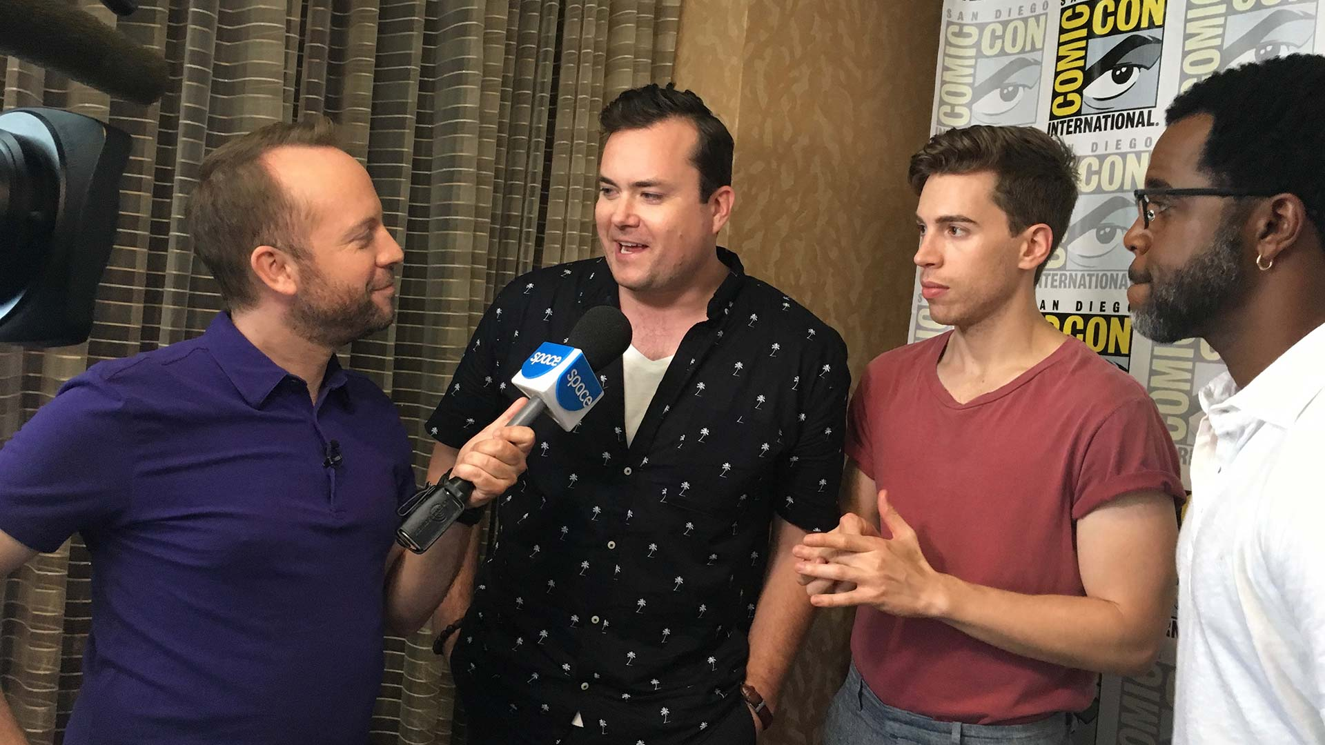 Kristian, Jordan and Kevin interviewed by our friend and fellow Canuck Teddy for Innerspace