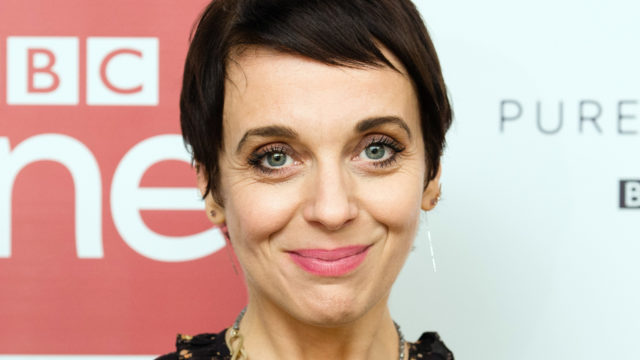 Amanda Abbington attends a screening of the Sherlock 2016 Christmas Special at Ham Yard Hotel on December 19, 2016 in London, England.