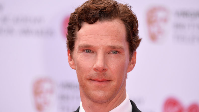 Benedict Cumberbatch attends the Virgin TV BAFTA Television Awards at The Royal Festival Hall on May 14, 2017 in London, England.