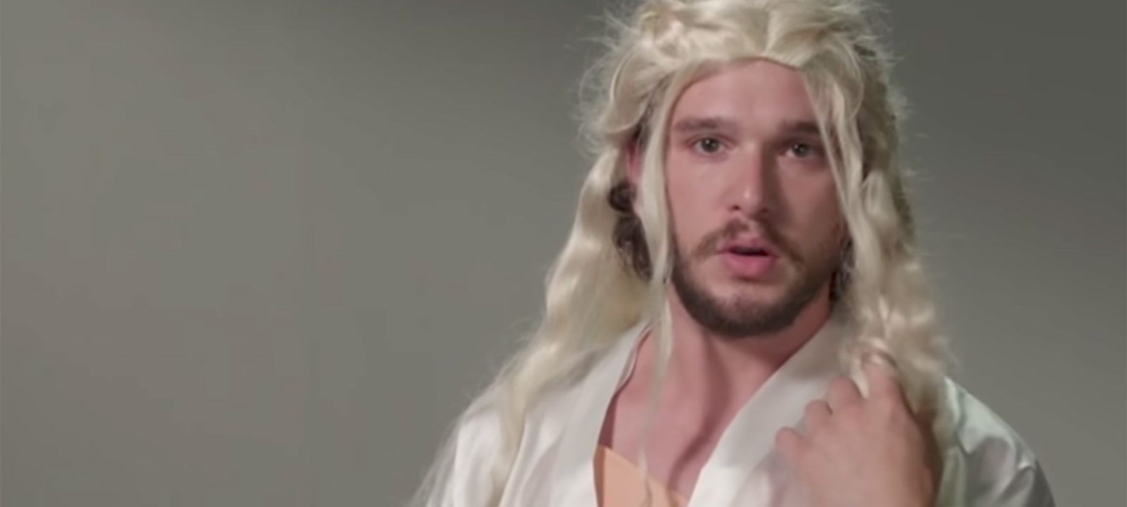Watch Kit Harington Tries On Other Game Of Thrones