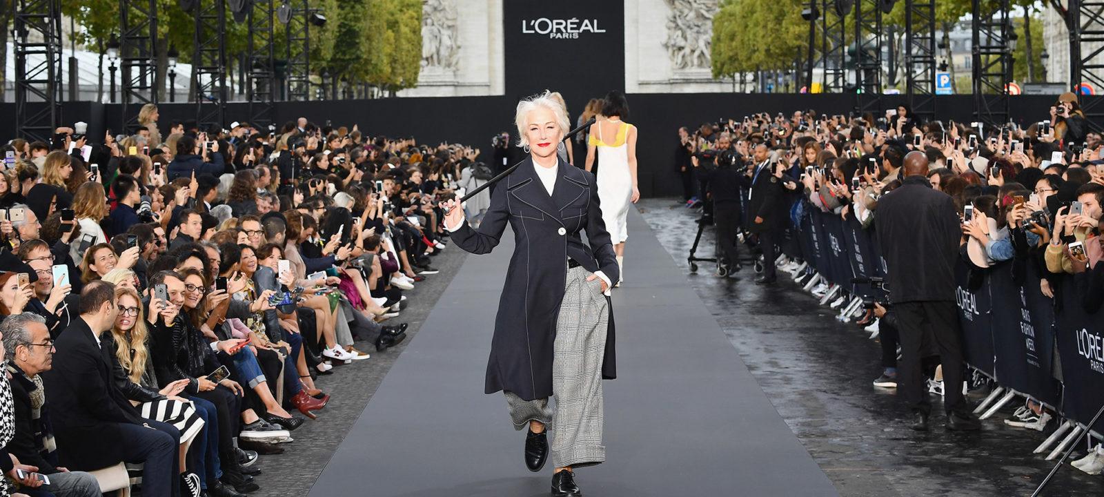 Le Defile L'Oreal Paris Runway – Paris Fashion Week Womenswear Spring/Summer 2018