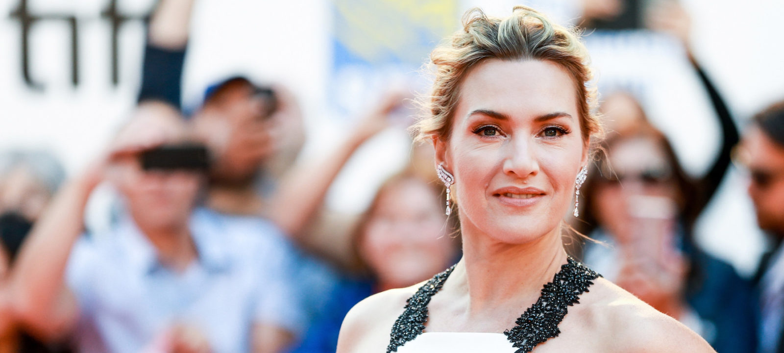 Kate Winslet attends 'The Mountain Between Us' premiere during the 2017 Toronto International Film Festival at Roy Thomson Hall on September 10, 2017 in Toronto, Canada.