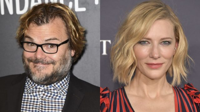 Jack Black and Cate Blanchett