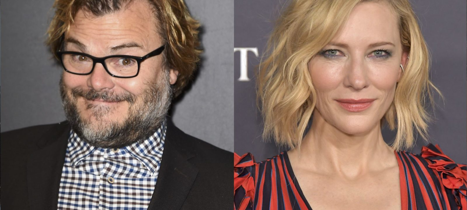 Jack Black and Cate Blanchett