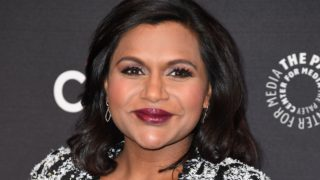 """Cast member Mindy Kaling attends the 11th annual PaleyFest Fall TV Previews for Hulu's """"The Mindy Project,"""" September 8, 2017 at The Paley Center for Media in Beverly Hills, California. / AFP PHOTO / Robyn Beck"""
