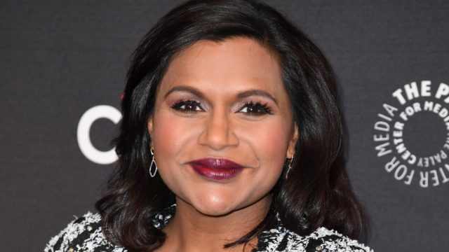 "Cast member Mindy Kaling attends the 11th annual PaleyFest Fall TV Previews for Hulu's ""The Mindy Project,"" September 8, 2017 at The Paley Center for Media in Beverly Hills, California. / AFP PHOTO / Robyn Beck"