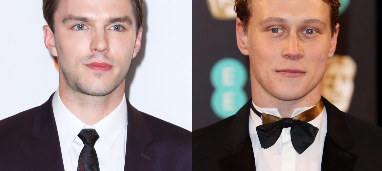 Nicholas Hoult and George McKay